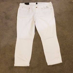 NWT! GAP skinny roll up jeans